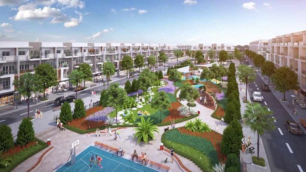 tiện ích dự án hana garden city